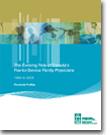 L'évolution du rôle des médecins de famille du Canada rémunérés à l'acte 1994 à 2003 : Profils provinciaux