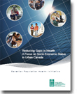La réduction des écarts en matière de santé: Un regard sur le statut socioéconomique