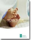 Nés trop vite et trop petits : Étude sur les bébés de faible poids au Canada